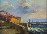 sunny day (saint petersburg) by ivan vasil'ev