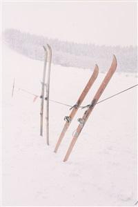 senza titolo (ski) by jitka hanzlová