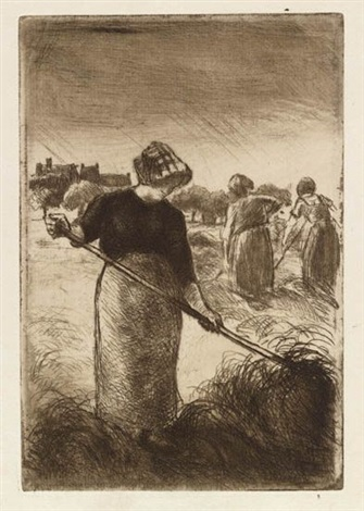 faneuses by camille pissarro