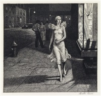 night in new york by martin lewis