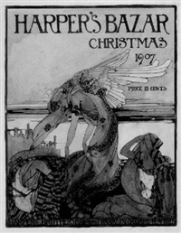 harper's bazar christmas 1907 by ellen macauley