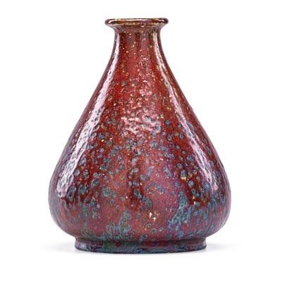 Bulbous Oxblood Vase By Pierre Adrien Dalpayrat On Artnet