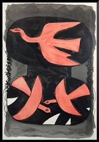 three birds by georges braque