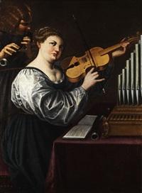 allegorie der musik by antiveduto grammatica