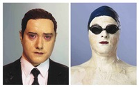 godfather (+ blue swimmer; work in 2 parts) by boo ritson