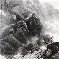 雨过山色清 by dong zhiqiang