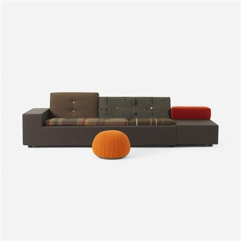 Limited Edition Maharam Polder Sofa By A Jongerius