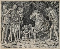 christus an der pforte zur vorhölle by andrea mantegna