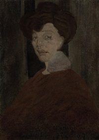 portrait de femme by amedeo modigliani