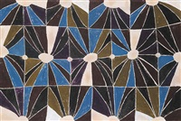 untitled (abstract squares and circles) by marion mildred dale scott