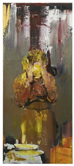 pie fight study 7 by adrian ghenie