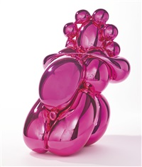 balloon venus dom (in 2 parts) by jeff koons