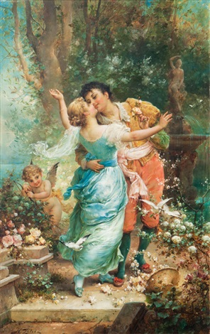cupids arrows by hans zatzka