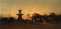 la place de la concorde, paris by victor barvitius