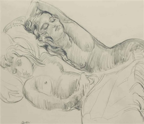 sunita and anita resting by sir jacob epstein