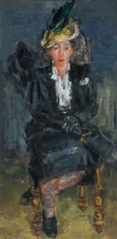 la dame en noir by paul maas