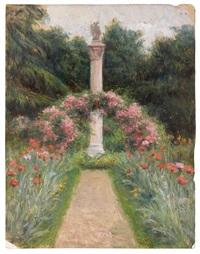 etude de jardin (study) by albert aublet