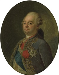portrait de louis xvi by joseph boze