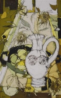 abstract still life by aileen lipkin