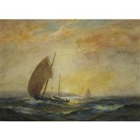 toward evening, coast of nova scotia by william st. thomas smith