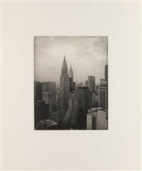the manhattan portfolio (bk w/12 works, introduction, title and text by ann beattie by tom baril