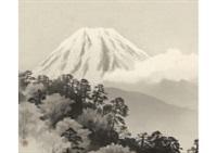mt.fuji by kibo kodama