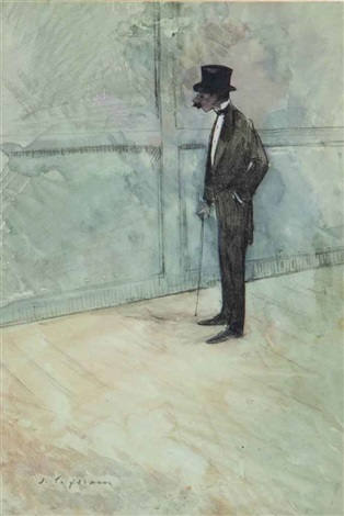 lhomme en costume by jean louis forain