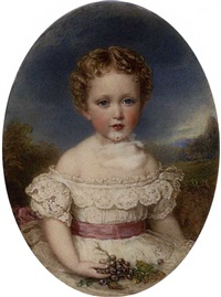 princess marie louise of schleswig-holstein, as a child by reginald easton