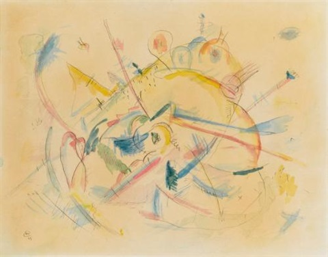ohne titel untitled by wassily kandinsky