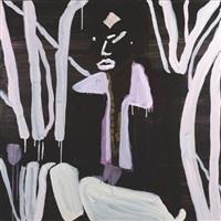 irie (anne taylor) by katherine bernhardt