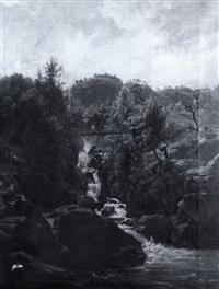 a river gorge by warner gyselman
