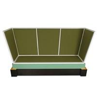 sofa aus der alcantara kollektion by ettore sottsass