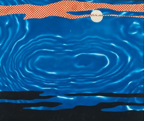 moonscape by roy lichtenstein