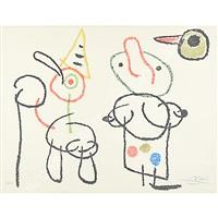 ragazzino e cane by joan miró