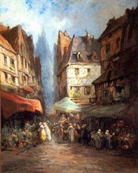 paris street merchants by a. de gerville