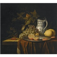 a still life with fruit by alexander coosemans