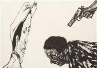 white squad by leon golub