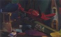 sans titre (maquettes d'avions) by tibor csernus