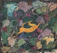 tapisserie (study) by serge fotinsky