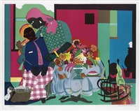 morning by romare bearden