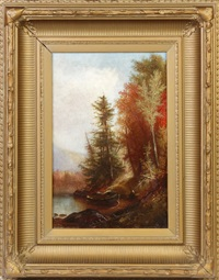 on moose lake by august rockwell