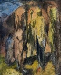 menschengruppe by hans spiegel