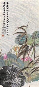 荷花青蛙 by ma dai