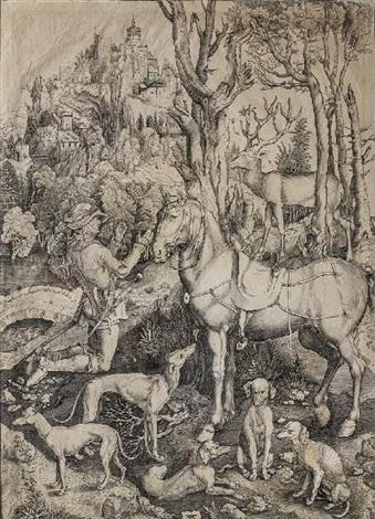 saint eustache by albrecht dürer