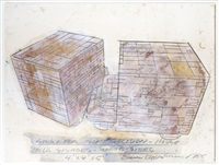 study for soft collision-house by dennis oppenheim