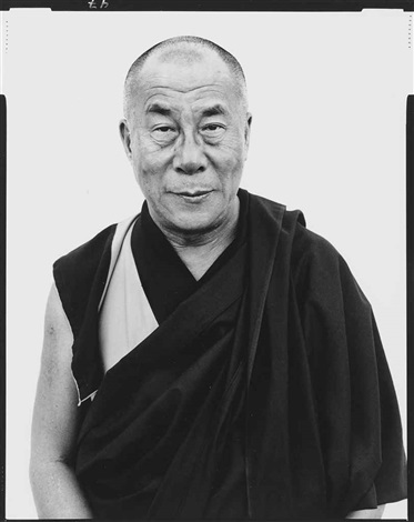 his holiness the dalai lama kamataka india january by richard avedon