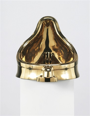 fountain, after marcel duchamp by sherrie levine