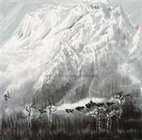 高原放牧 by dong zhiqiang