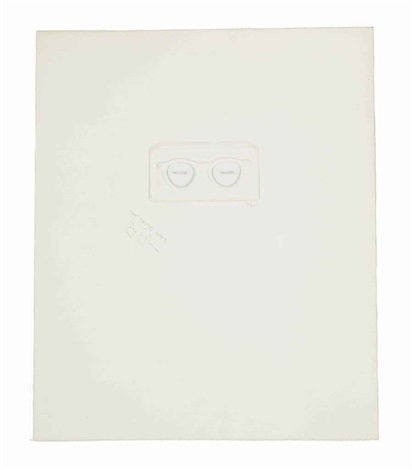 the critic sees from ten from leo castelli by jasper johns