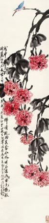 芙蓉花开 by qi bingsheng